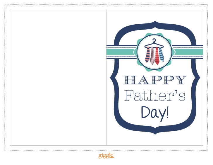 image regarding Happy Fathers Day Cards Printable titled Fathers Working day Card Printable Snicker Journal