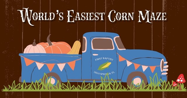 World's Easiest Corn Maze