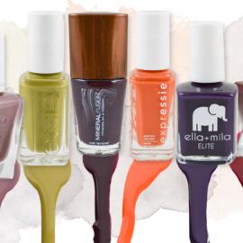 Fall-Colored Nail Polishes