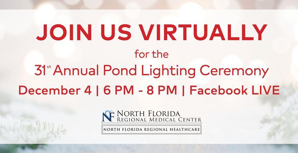 North Florida Annual Pond Lighting