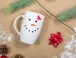 Sippin' Snowmen Mugs